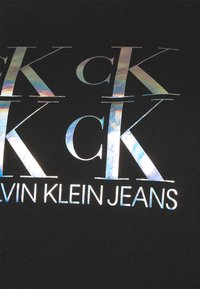 Calvin Klein Jeans Plus - SHINE LOGO CREW NECK - Sweatshirt - black - 4