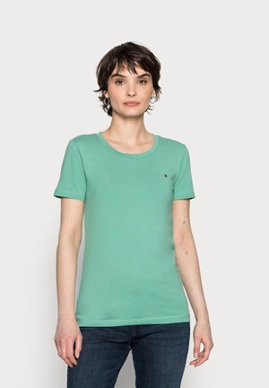 COOL SOLID ROUND - T-shirt basique - frosted evergreen