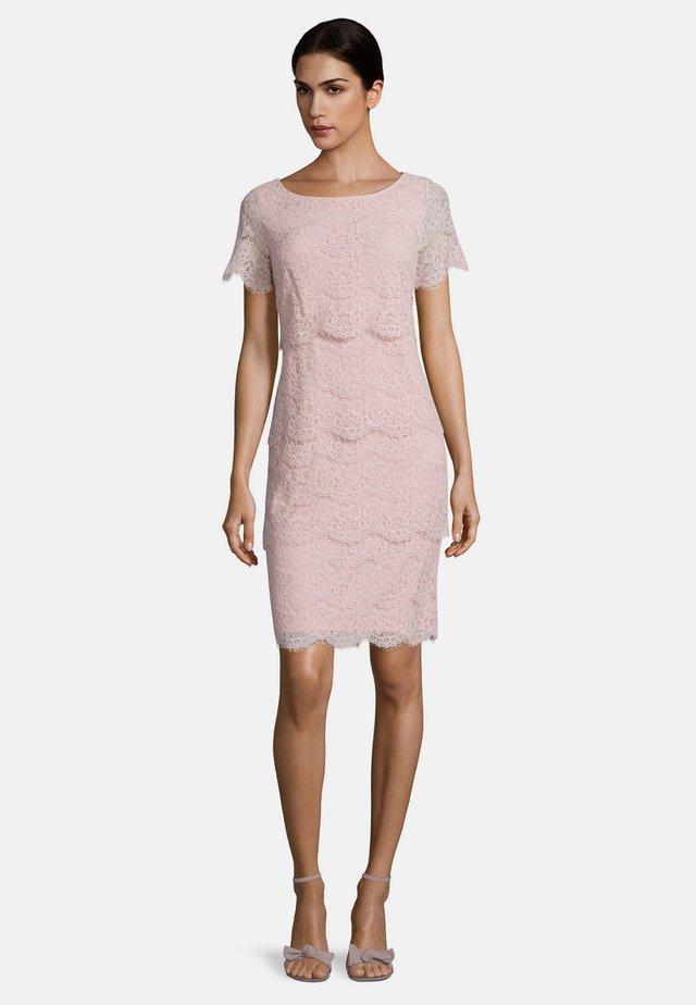 Shift dress - foggy rose