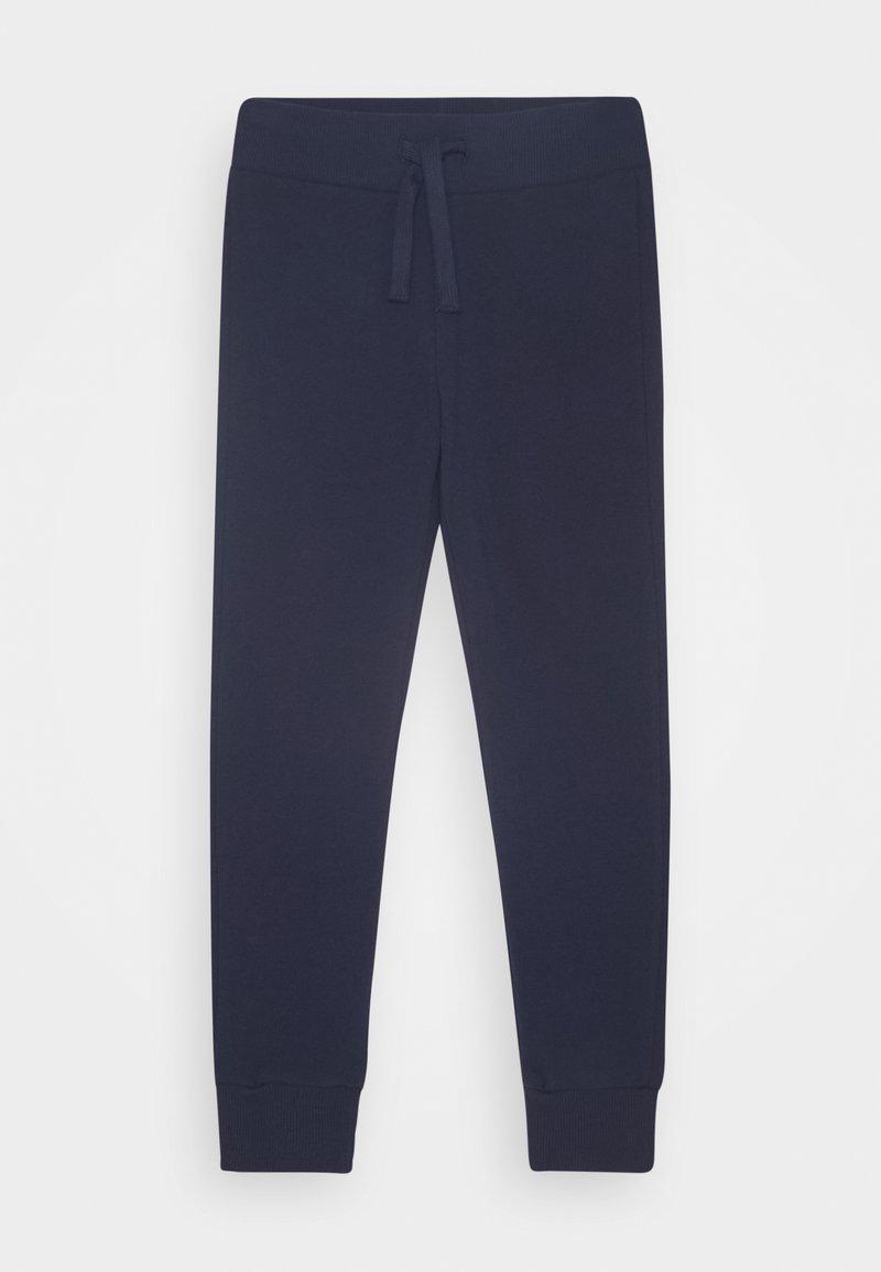 Benetton - BASIC BOY - Spodnie treningowe - dark blue
