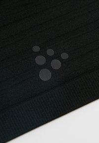 Craft - WARM COMFORT HAT  - Gorro - black - 2
