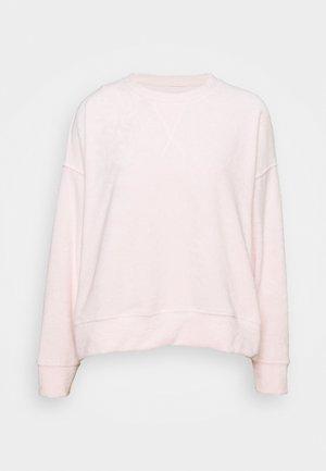 TERRY - Sweatshirt - rosé