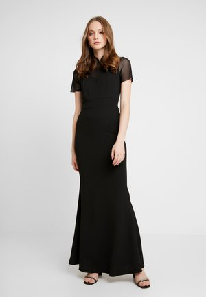 HELCTOR NECK SLEEVE MAXI - Occasion wear - black