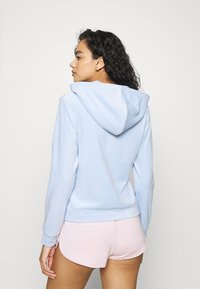 Gina Tricot - CECILIA HOODIE - Zip-up sweatshirt - pop blue - 2