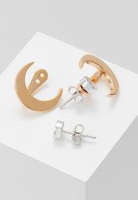 Emporio Armani - Earrings - roségold-coloured/silver-coloured - 2