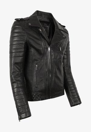 THOR PERFECTO - Læderjakker - black