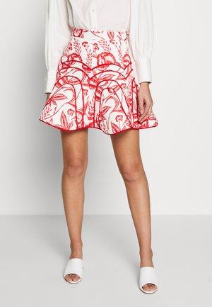 SKIRT - A-line skirt - ivory botanic