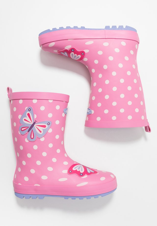 BEATRIX - Gummistøvler - pink
