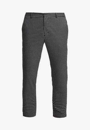 MINI GRID TROUSER - Trousers - black