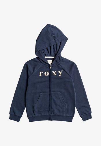 Zip-up hoodie - mood indigo