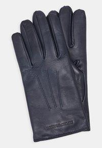 Emporio Armani - Gloves - blu notte - 0