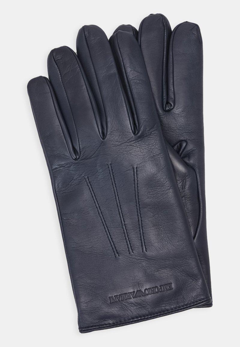 Emporio Armani - Gloves - blu notte