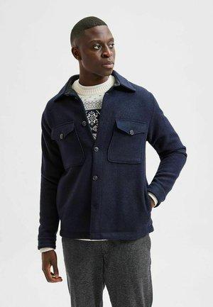 SLHSUST ICONICS LUMBER  - Summer jacket - navy blazer