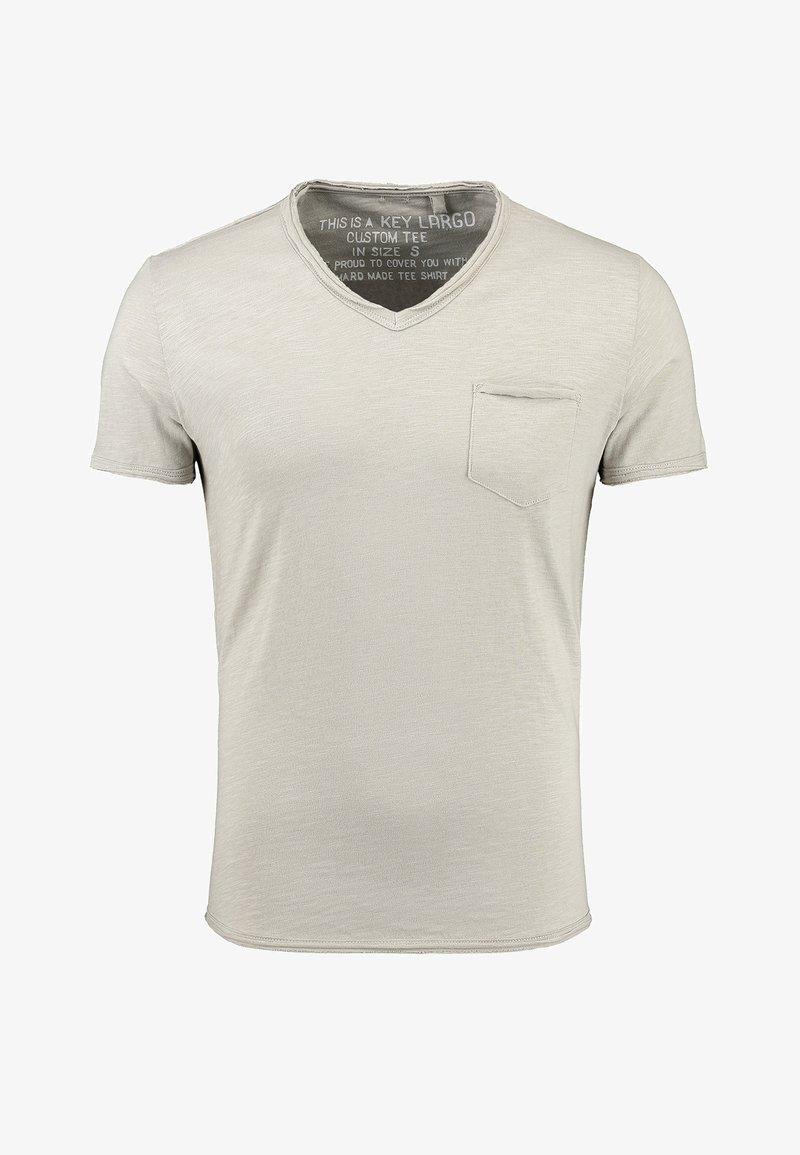 Key Largo - MT WATER - Basic T-shirt - dove grey