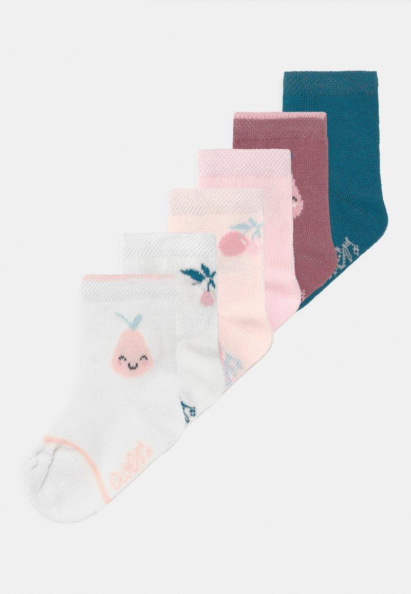 Ewers - FRUITS 6 PACK - Socks - pink