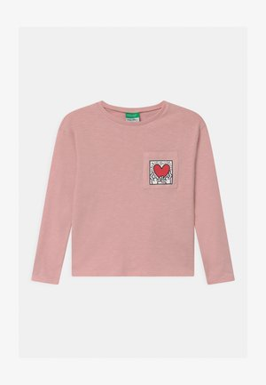 KEITH KISS GIRL - Long sleeved top - light pink