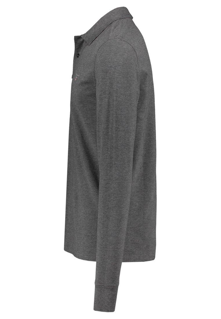 Gant The Original Rugger - Poloskjorter Grey/grå