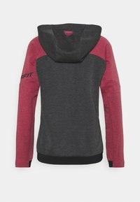 Dynafit - ZIP HOODY  - Zip-up sweatshirt - beet red - 1