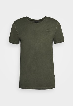 CLAYTON - Basic T-shirt - green