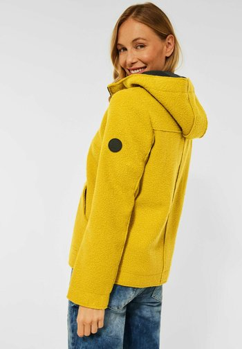 Fleece jacket - gelb