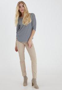 Fransa - FRPEJACQ 1 - Camiseta de manga larga - navy blazer mix - 1