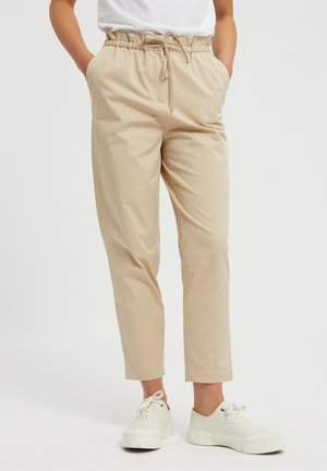 Trousers - oat