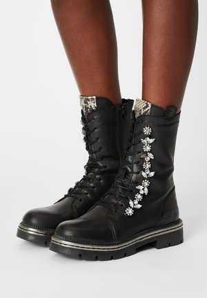 WYMORE - Lace-up ankle boots - black