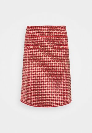 BLANDINE - Mini skirt - rouge