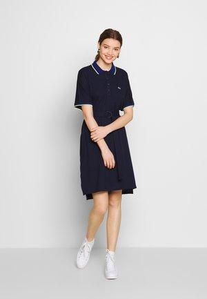 Day dress - navy blue/methylene subal