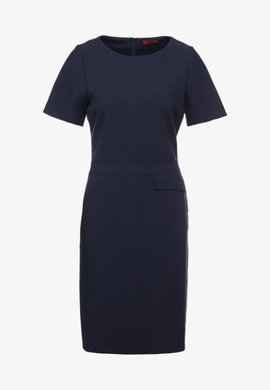 KATARA - Shift dress - dark blue