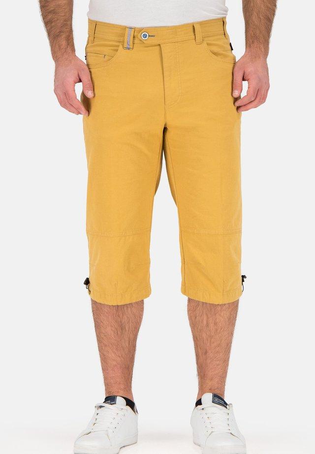 Shorts - ockergelb
