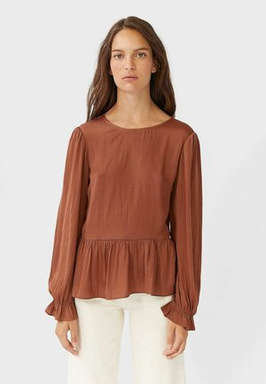 06000492 - Blouse - brown