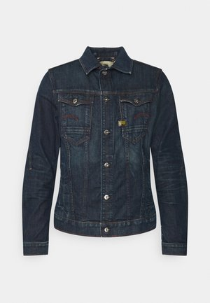 SLIM  - Denim jacket - dark blue