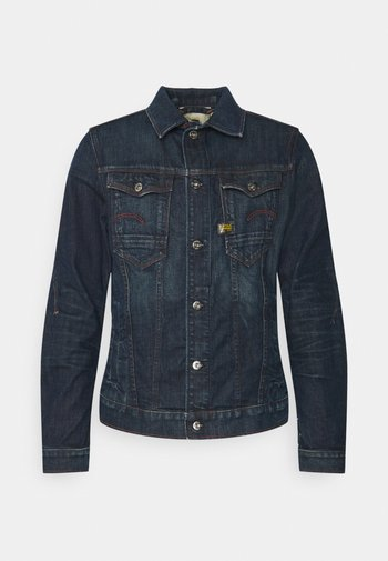 SLIM  - Džínová bunda - dark blue