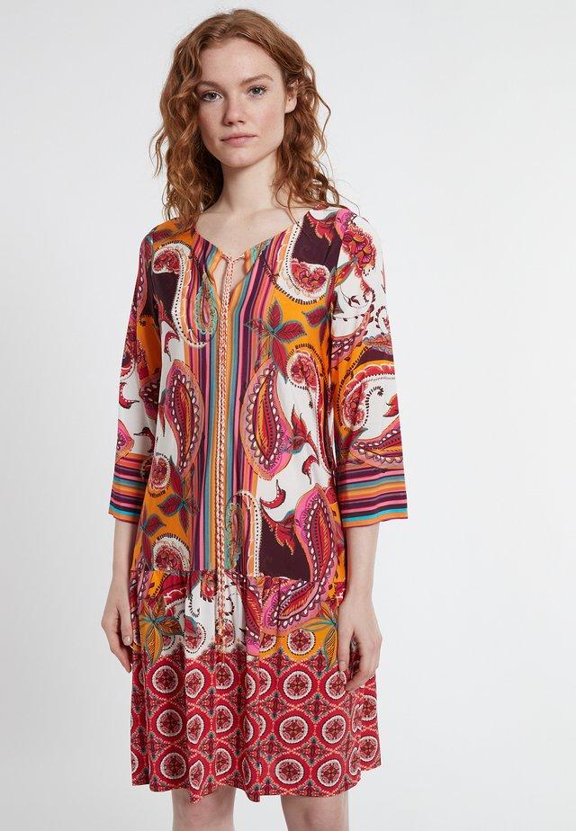 DOLYREA - Korte jurk - mehrfarbig