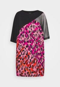 Just Cavalli - Denní šaty - fuxia variant - 6