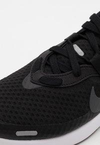 Nike Sportswear - REPOSTO - Sneakers - black/iron grey/blue void/mystic dates/laser orange/white - 5