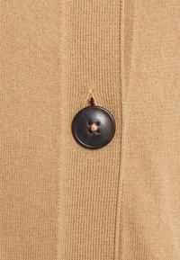 Marc O'Polo - CARDIGAN LONGSLEEVE ROUND-NECK BUTTON CLOSURE - Cardigan - caramel - 2