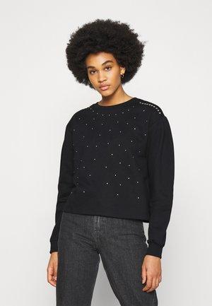 JDYBASA LIFE STUD - Sweatshirt - black