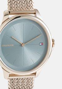 Tommy Hilfiger - DELPHINE - Klokke - roségold-coloured/blue - 4