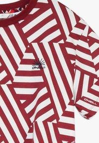 O'Neill - MIT KNOTEN - T-shirt print - cabernet - 2