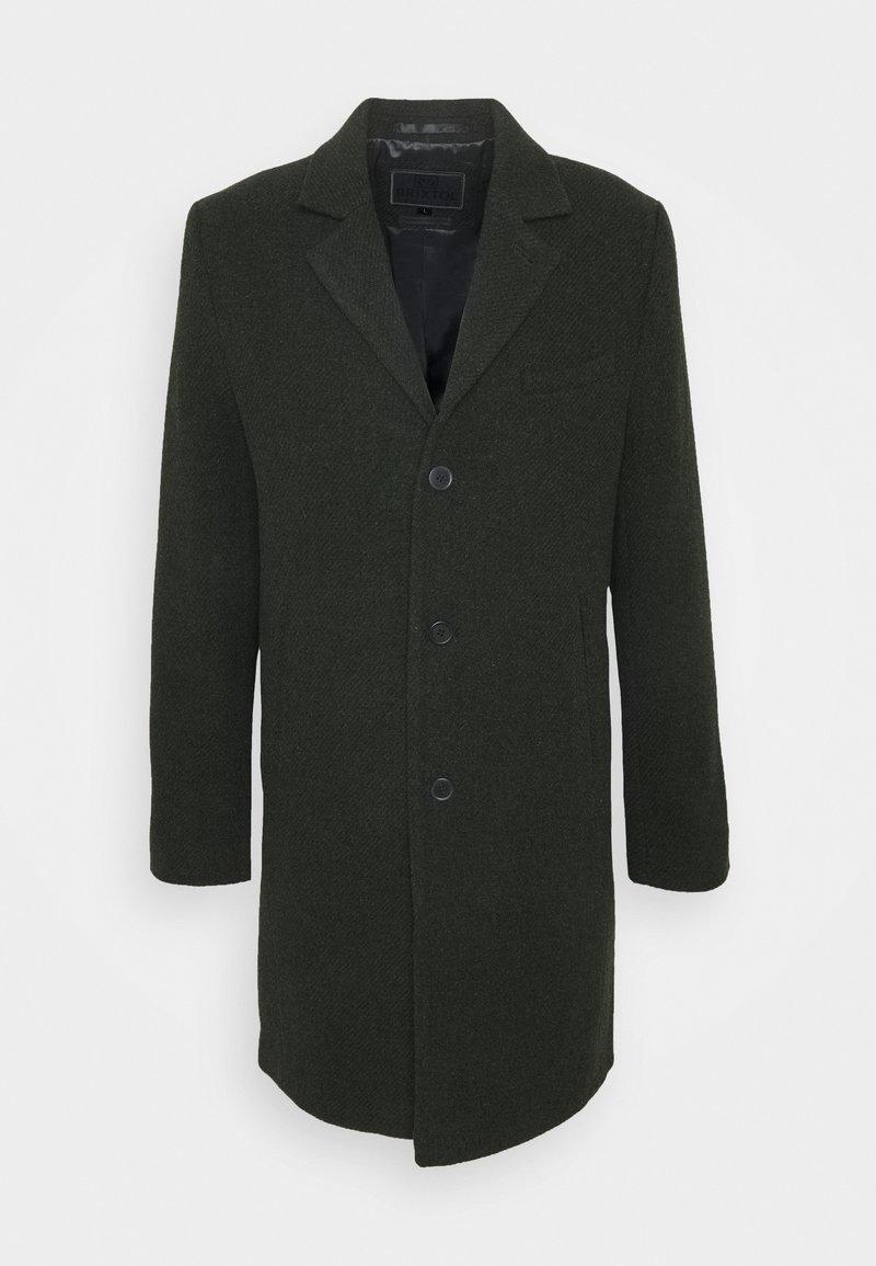 Brixtol Textiles - IAN - Klasický kabát - olive