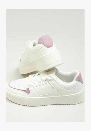 Sneakers laag - altweiß