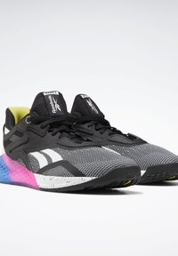 Reebok - NANO X SHOES - Sneaker low - black - 5