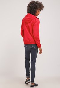 K-Way - LE VRAI CLAUDETTE - Waterproof jacket - red - 2