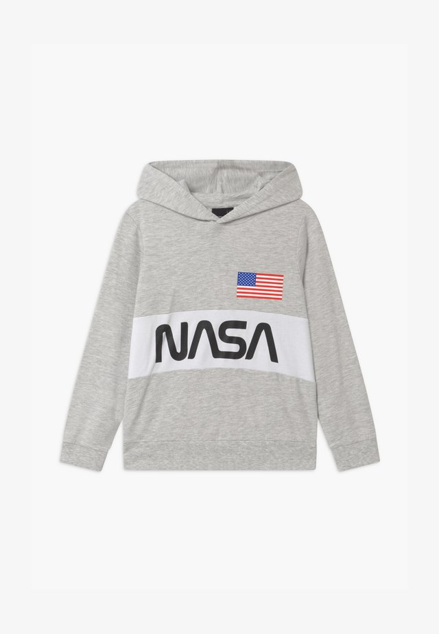 NASA LASSO HOOD - Hoodie - light grey