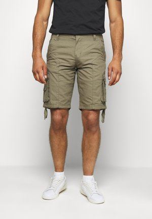 Shorts - dusky green