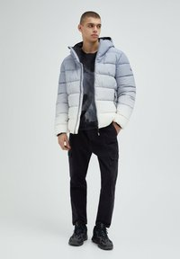 PULL&BEAR - Winter jacket - light grey - 1