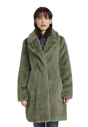 Winterjas - greyish green