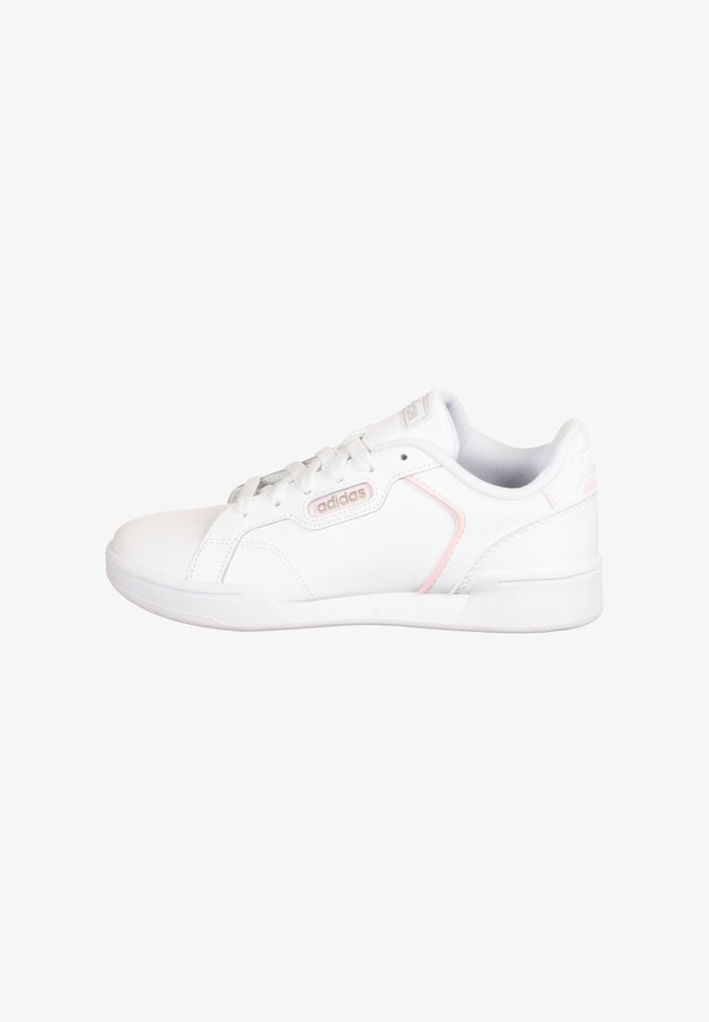 Sneaker low - footwear white / platin metallic